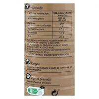 Aceituna manzanilla anchoa s/pote - Informació nutricional - es