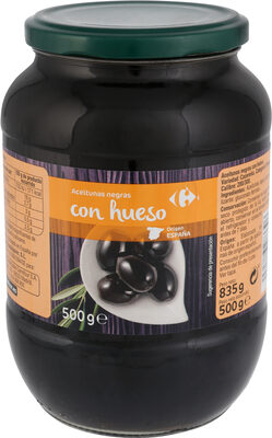 Aceitunas Negras C/Hueso Cacereña - Produit - es