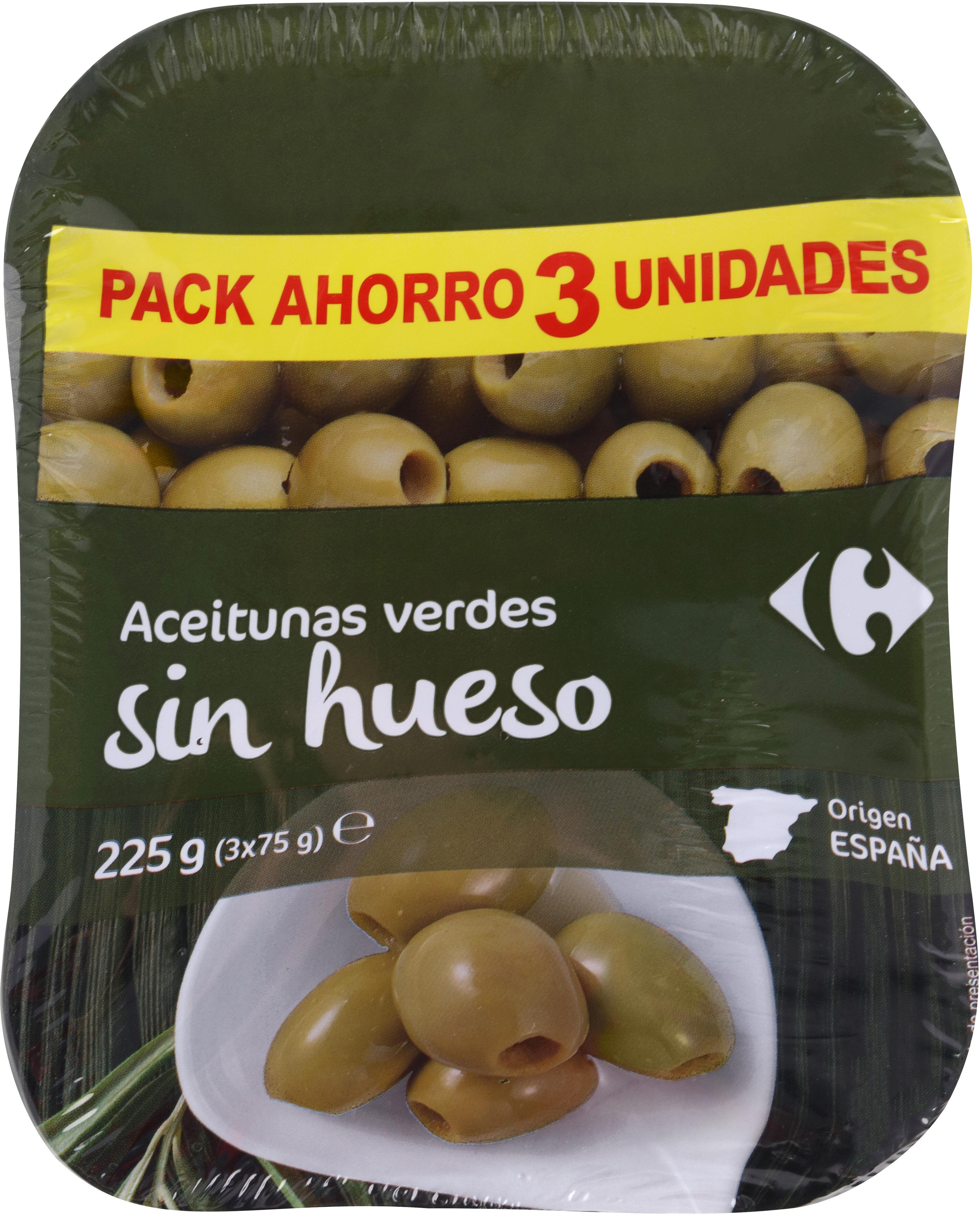 Aceitunas Manzanilla S/Hueso Bolsa - Producte - es