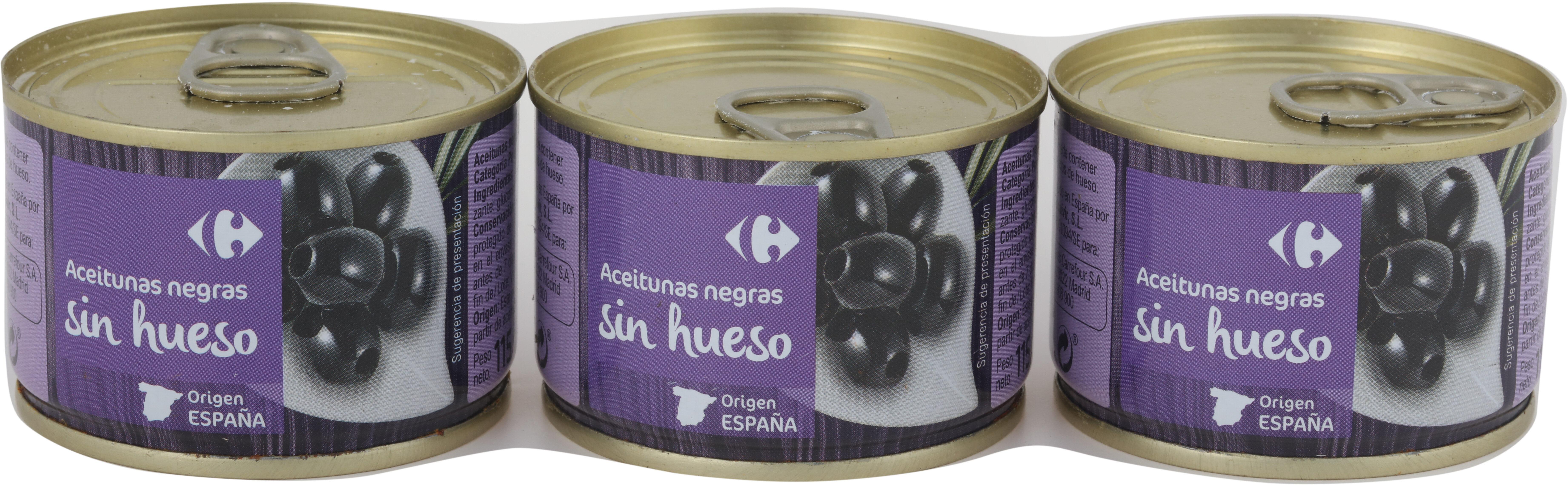 Aceitunas S/Hueso Negra Cac. Lata - Producte - es