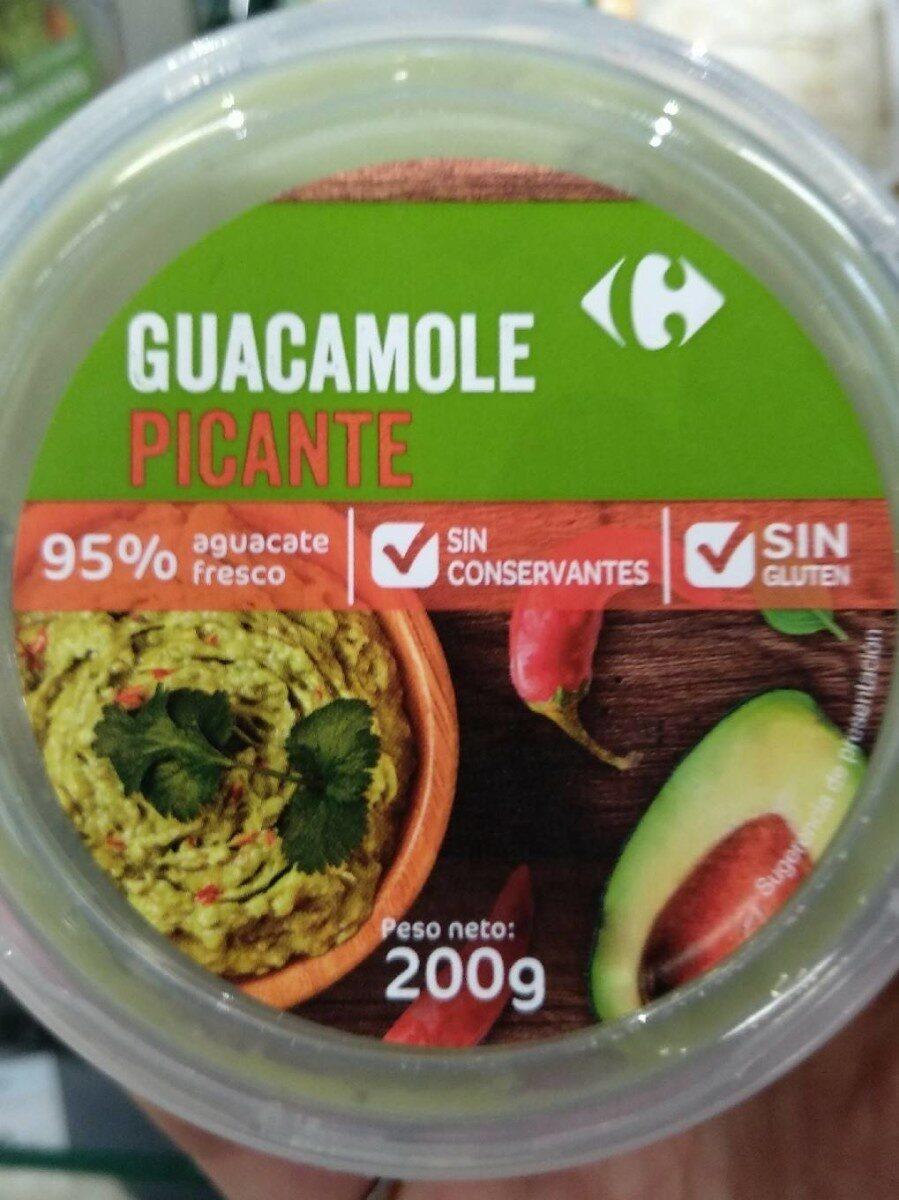 Guacamole picante - Voedingswaarden - es