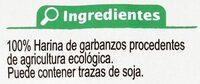 Fusilli De Garbanzos Sin Gluten - Ingredienti - es
