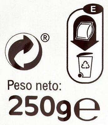 Fusilli De Garbanzos Sin Gluten - Istruzioni per il riciclaggio e/o informazioni sull'imballaggio