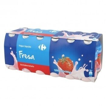 Yogur liquido fresa - Producto - es