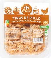 Tiras De Pollo Pechuga De Pollo Al Horno - Produit - es