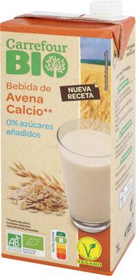 Bebida de avena calcio 0% azúcares añadidos - Product - es