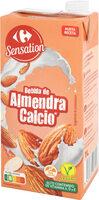 Bebida de almendra calcio - Produit - es