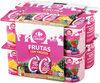 Yogur 00% Con Frutas (Fresa, Piña Y Fdb) - Product