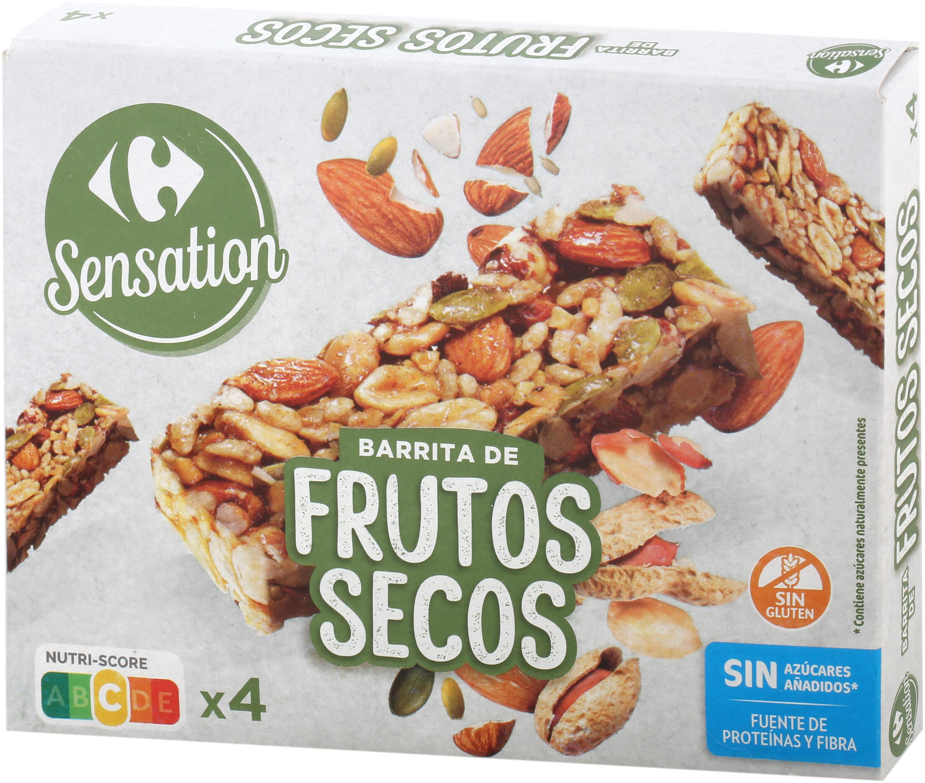 Barrita con cacahuetes, avellana, almedra y semillas - Product - es
