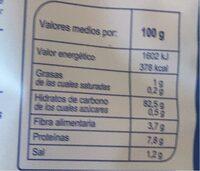 Cereales Corn Flake sin gluten - Informations nutritionnelles - es