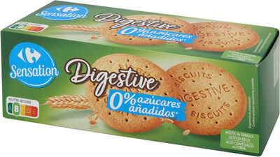 Digestive 0% azúcares añadidos - Produit - es