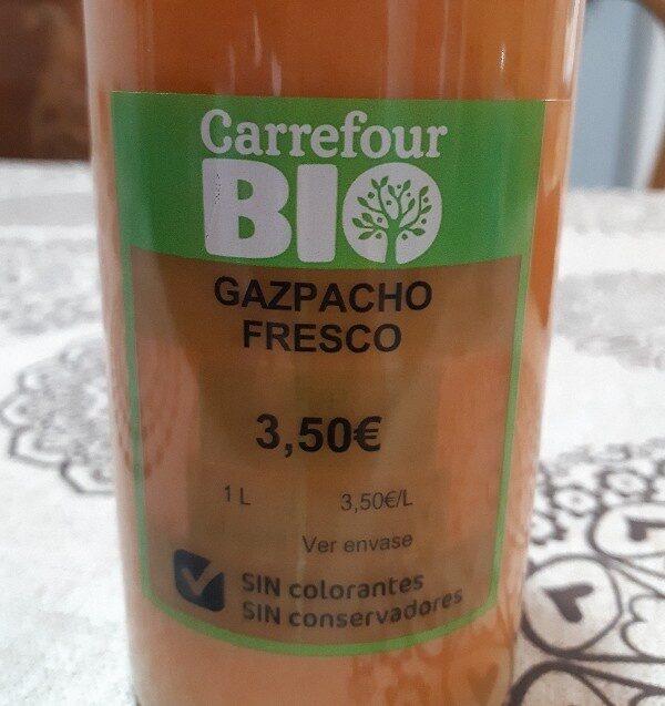 Gazpacho fresco - Ingrédients - es