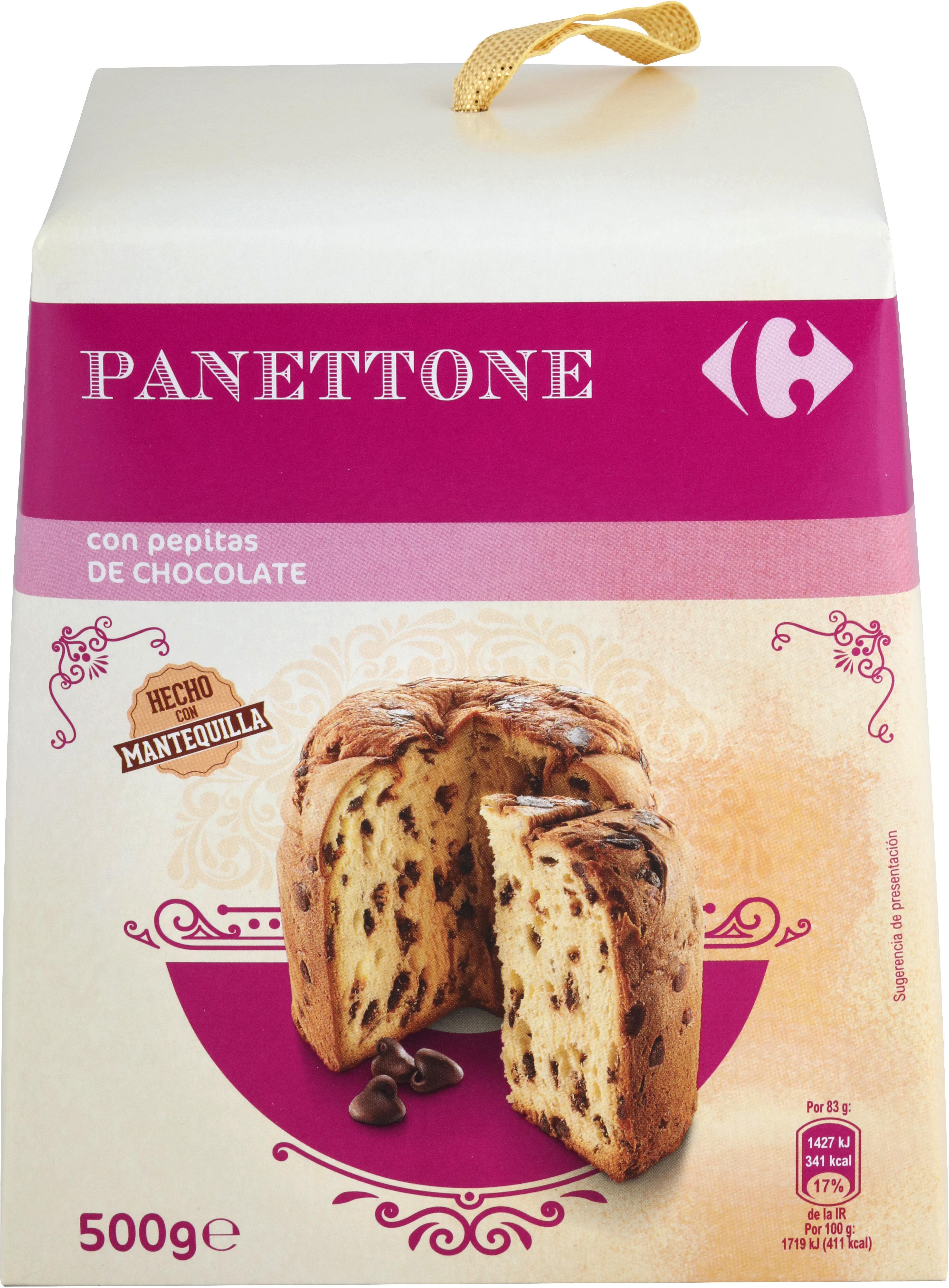 Panettone Con Pepitas De Chocolate - Product - es