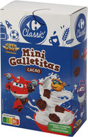 Minigalletitas cacao - Product - es