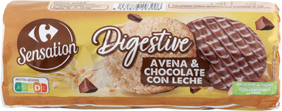 Digestive avena y chocolate con leche - Producte - es