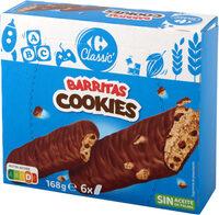 Galletas cookies barritas - Product - es