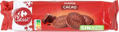 Galleta maría de cacao - Product - es
