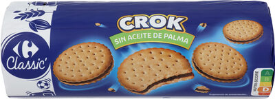 Galleta rellena con crema de chocolate - Product - es