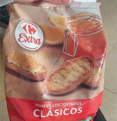 Panecillos tostados - Product - es