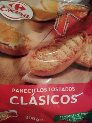 Panecillos tostados - Ingredients - es