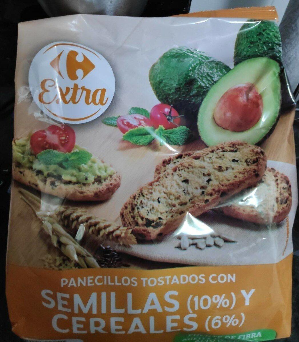 Panecillos tostados con semillaa y cereales - Product - es