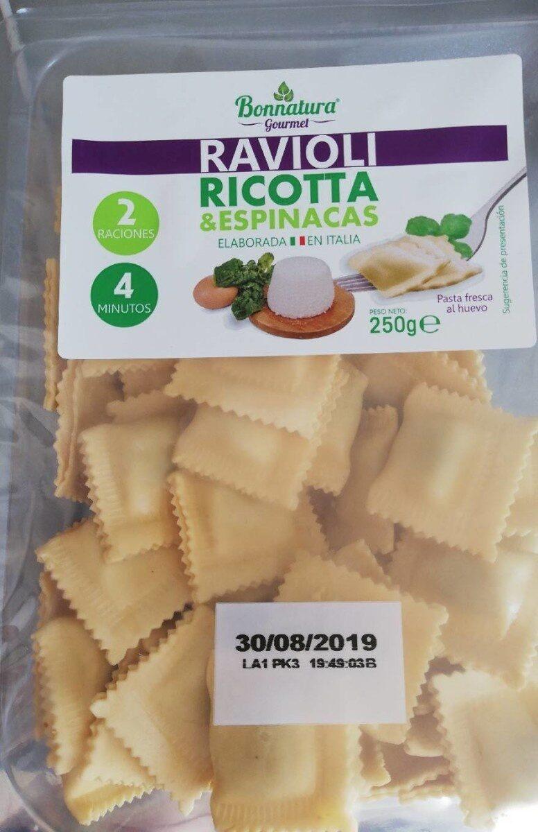 Ravioli ricotta y espinacas - Produit - es