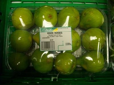 """Higos """"Frutas Calatayud"""" - Información nutricional - es"""