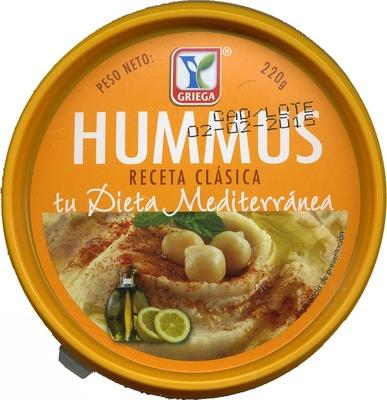 Hummus Clásico - Produit