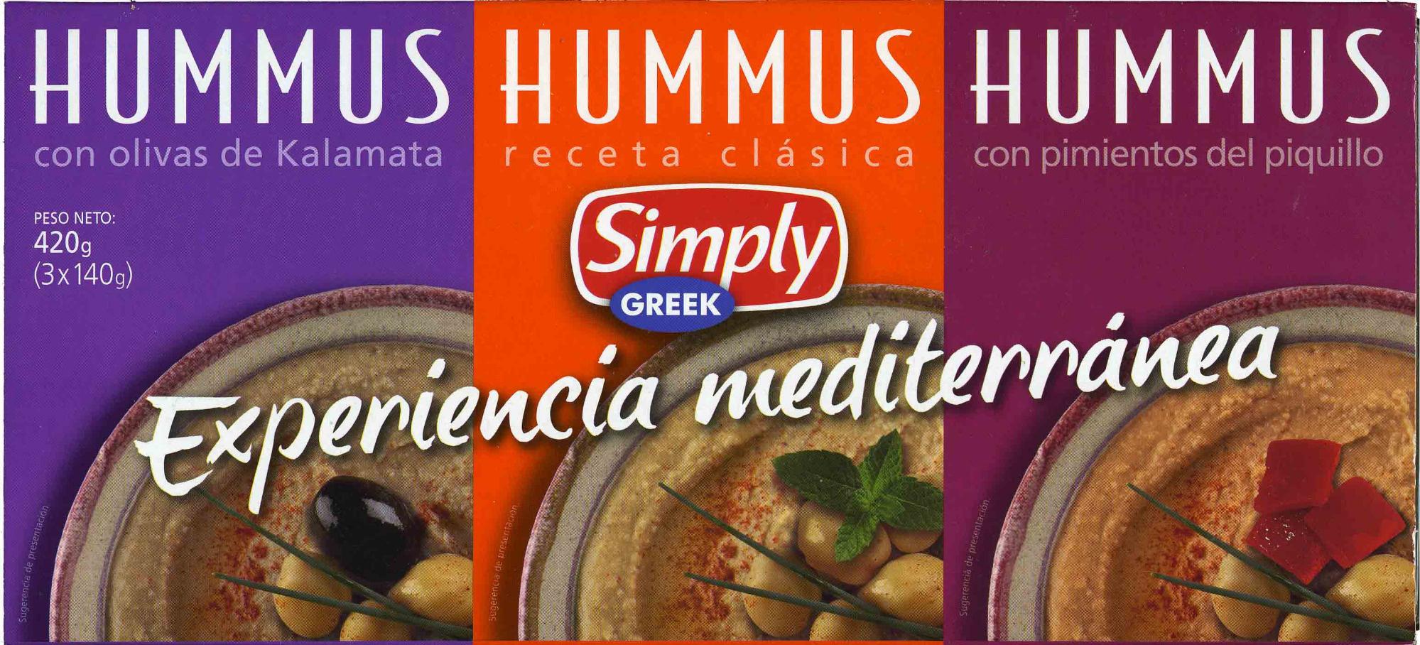 Hummus Pack 3 sabores - Produit - es