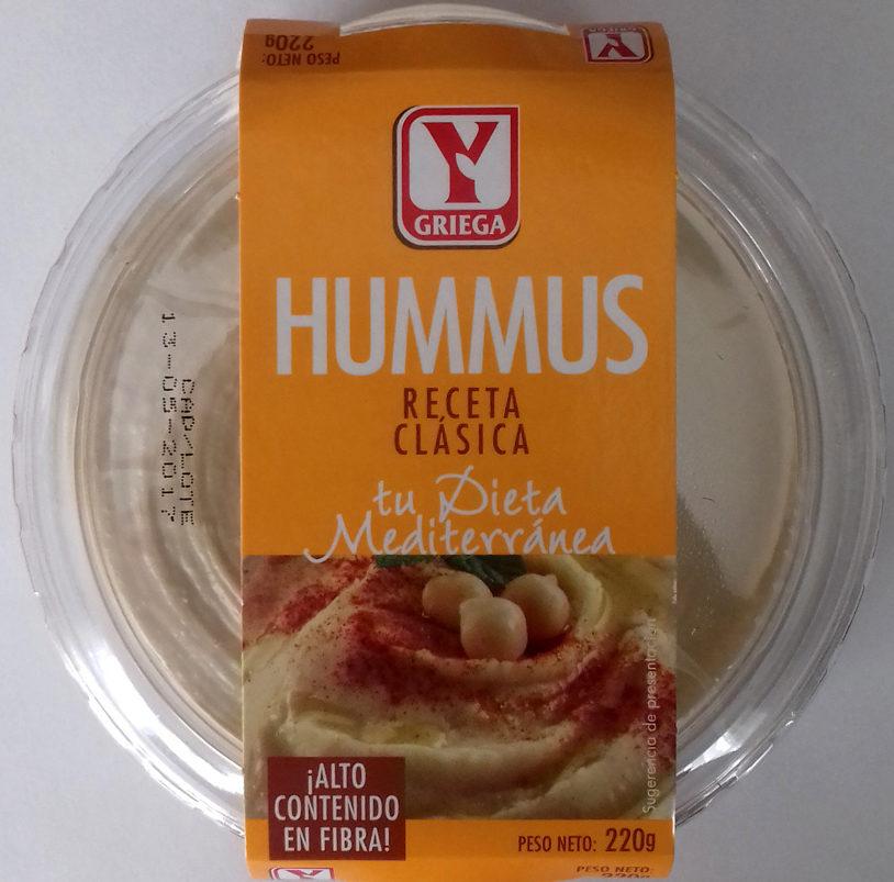 Hummus Receta clásica - Producto - es