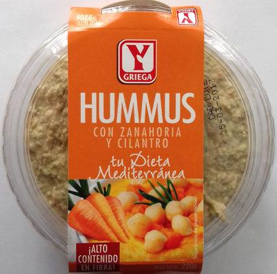 Hummus con zanahoria y cilantro - Produit - es