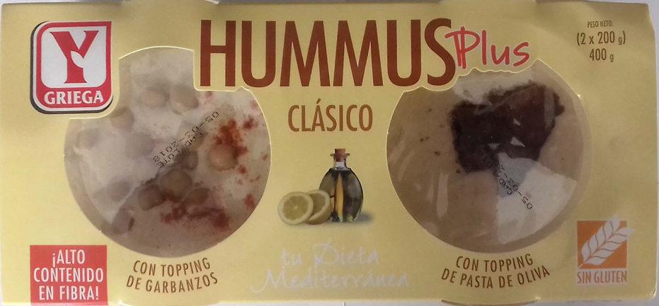 Hummus clásico plus - Producto - es