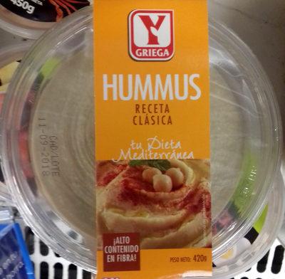 Hummus Receta Clásica - Producto