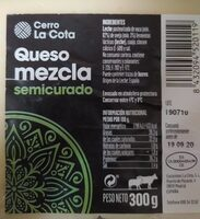 Queso mezcla semicurado - Product - es