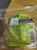 Queso semicurado - Ingredients - es