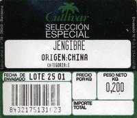 Jengibre - Ingredientes - es