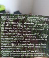 Begetal de almendra con vainilla - Producto - es