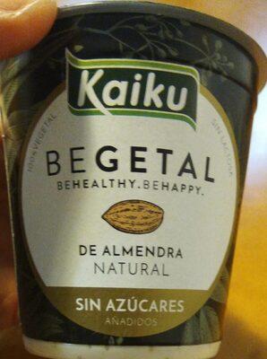 Begetal Natural Sin Azucares Añadidos - Producto
