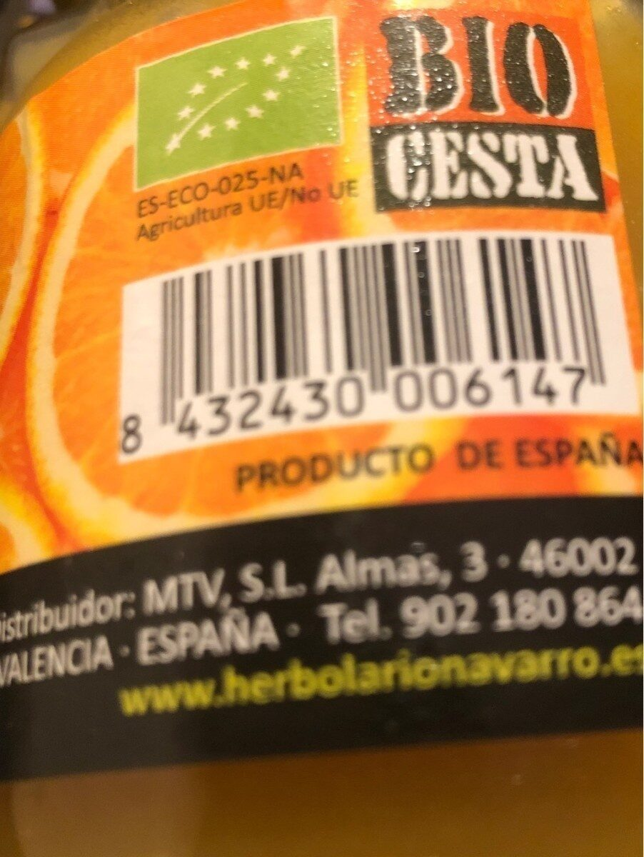 Mermelada de naranja - Product - es
