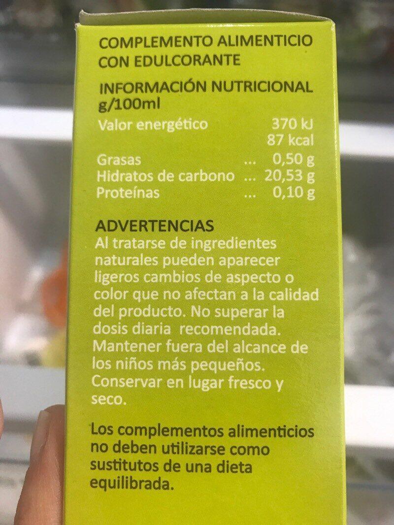 Hepa-norm viales - Ingrédients
