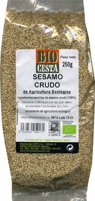 """Sésamo crudo ecológico """"Bio Cesta"""" - Producte"""