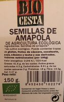 Semillas de amapola - Produit - es