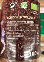 Achicoria - Informations nutritionnelles - es