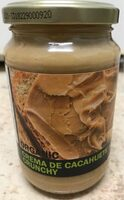 Organic Crema de Cacahuete Crunchy - Prodotto - fr