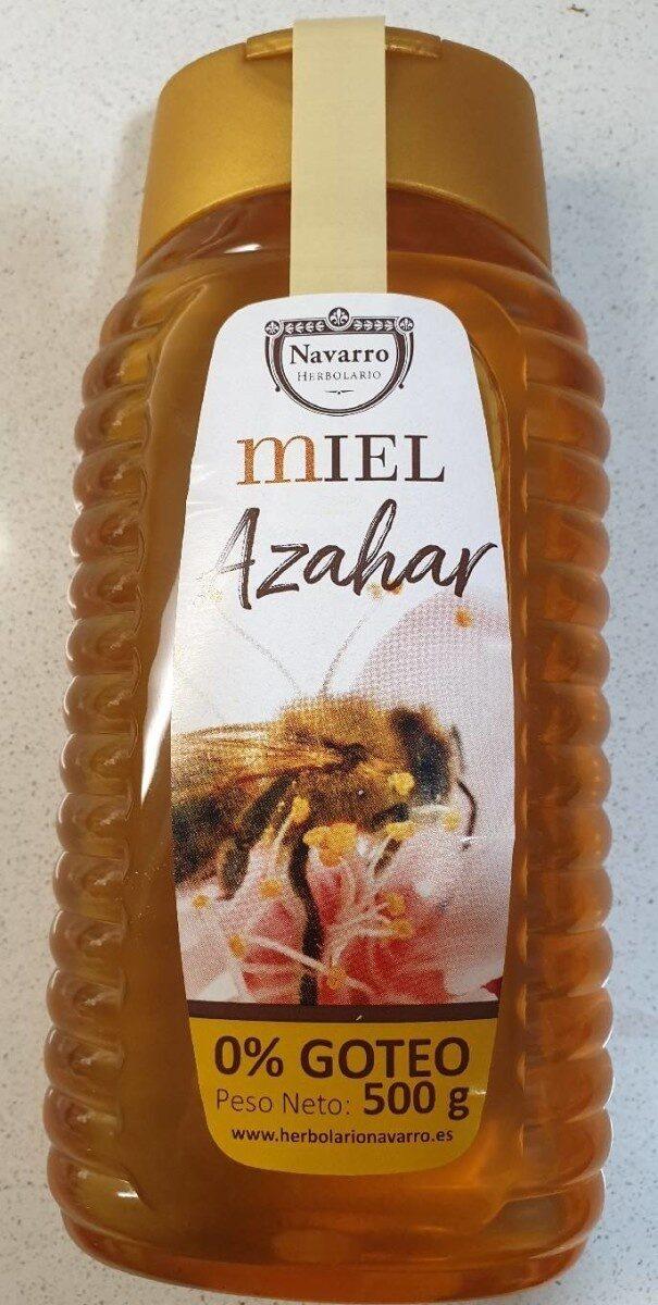 Miel de Azahar Herbolario Navarro - Producto