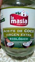 Aceite De Coco Virgen Extra Eco La Masia - Producte
