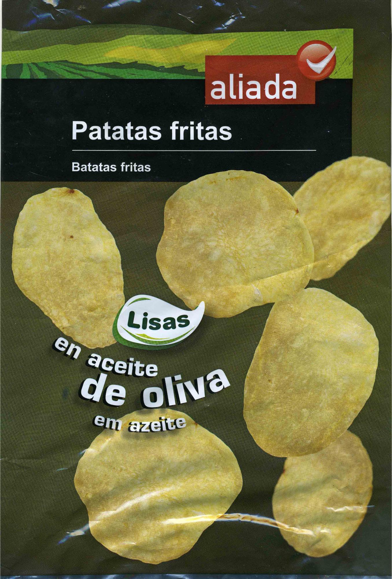 Patatas fritas lisas en aceite de oliva - Producto - es