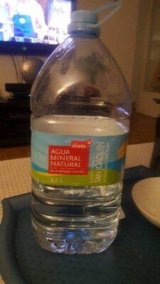 Agua mineral natural garrafa - Producto - es