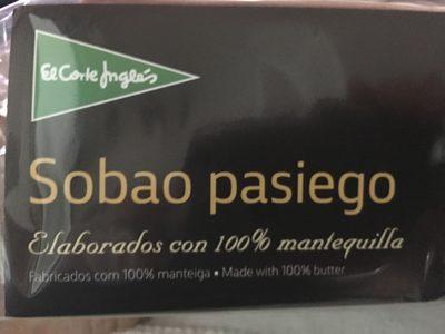 Sobaos pasiegos elaborados con mantequilla i.g.p. - Producto