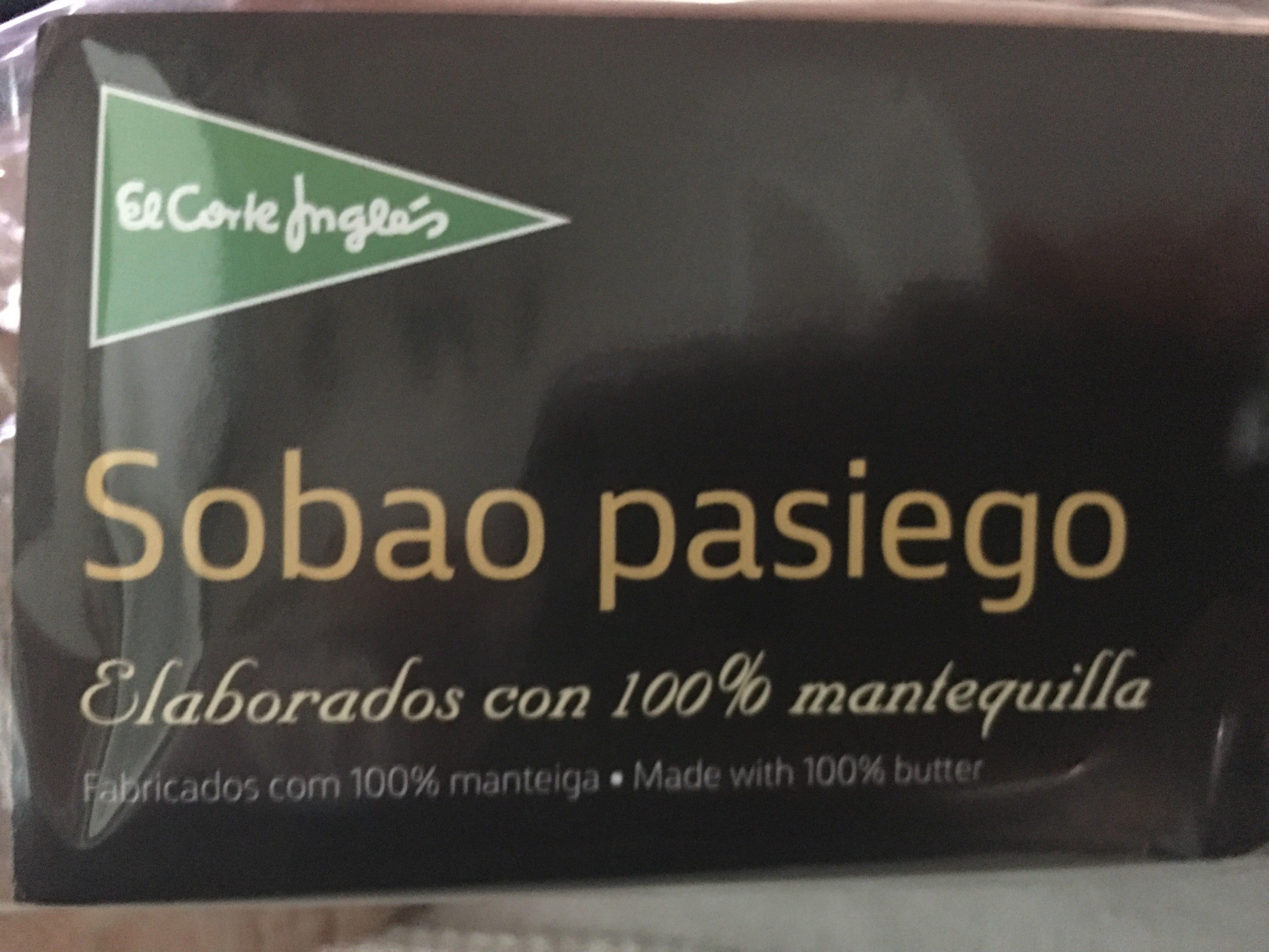 Sobaos pasiegos elaborados con mantequilla i.g.p. - Product - es